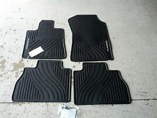 NEW OEM 2007-2011 TOYOTA TUNDRA ALL WEATHER FLOOR MATS 4-PIECE SET