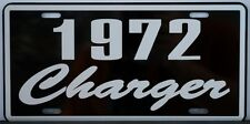 1972 72 CHARGER LICENSE PLATE 318 383 426 HEMI 440 NASCAR SE PISTOL GRIP