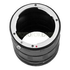 Macro Extension Tube 3-Ring Set for Nikon D200 D300 D700 D4 D610 D750 D7200 D810