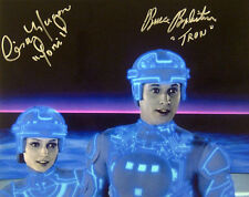 Bruce Boxleitner TRON & Cindy Morgan YORI Dual Autographed Signed Color Photo