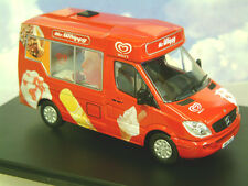 OXFORD DIECAST 1/43 MERCEDES WHITBY MONDIAL ICE CREAM VAN WALLS MR WHIPPY WM001