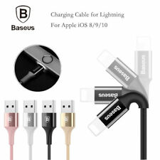 LED Light USB Cable Lightning 2A Fast Sync Charging For iPhone X SE 6S 7 8 Plus