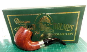 "UNSMOKED MINT CONDITION ""PETERSON'S SHERLOCK HOLMES THE PROFESSOR"" BILLIARD PIPE"