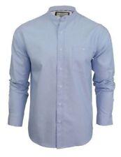 Camicie casual e maglie da uomo camicie casual colletto alla coreani manica lunghi