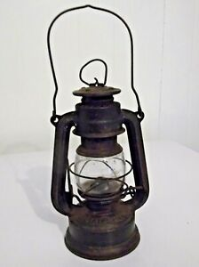 FEUERHAND No.175 Super Baby Lantern Germany with Clear Etched Glass