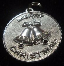 VINTAGE STERLING SILVER MERRY CHRISTMAS CHARM