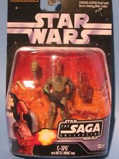 STAR WARS C3PO WITH BATTLE DROID HEAD! NM!