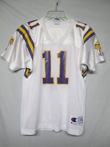 NFL Minnesota Vikings Daunte Culpepper Vintage Champion Youth Jersey Large 14-16
