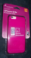 BRAND NEW Travelocity Pink Frost Shock Absorbent Protective Case For iPhone 6/6s