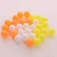 10/50 X assortiment de table en plastique ping pong balles color_ftfw
