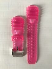 TECHNOMARINE Pink Silicone Replacement Watch Strap / Band / Bracelet - 20mm