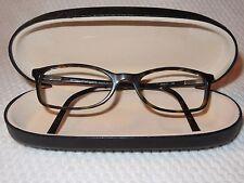 EMANUEL UNGARO 4537 RX Designer Eyeglass Frames Zylonite Metal Hinges With Case