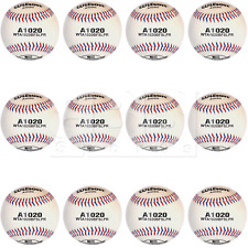 Wilson A1020 Championship Clase A & Big League Series Baseball Dozen