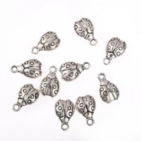 15 Spacer Beads Cone Bead Cap Antique Silver Tone 3D SC4520