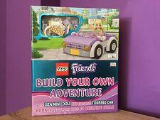 LEGO Friends construire votre propre aventure livre avec Touring Car. créer, Inspire.