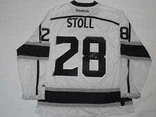 JARRET STOLL SIGNED REEBOK LOS ANGELES KINGS 2012 STANLEY CUP JERSEY JSA COA