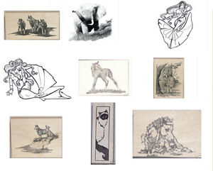CORONADO ISLAND ART RUBBER STAMPS 30+ DESIGNS TO CHOOSE FROM