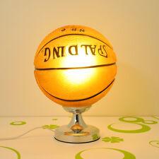 1 PC Fashion Kids Boy Single Bulb Basketball Decorative Bedside Desk Table Lamp