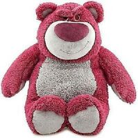 Disney Toy Story 3 Lotso Strawberry Scented 32cm Plush Doll Soft Toy