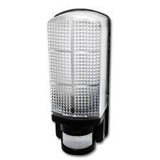 HISPEC BLACK IP44 6w LED Bulkhead fitting Movement PIR Sensor Door Porch Lamp UK