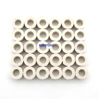 50PCS white height 3mm Cushion Ring fit for SWF Feiya and Chinese embroidery