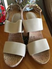 Dune wedges size 5/38 Nude Worn Once Perfect Condition