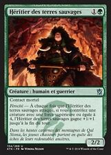 MTG Magic KTK - (4x) Heir of the Wilds/Héritier des terres sauvages, French/VF