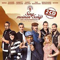 SING MEINEN SONG-DAS TAUSCHKONZERT VOL.3 DELUXE - NENA, THE BOSSHOSS -2 CD NEU