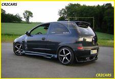 Vauxhall Corsa C Arrière/toit spoiler (2000-2006)