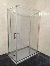 BOX CABINA DOCCIA BAGNO RETTANGOLARE CRISTALLO SICUREZZA 6m 70 x 90 TRASPARENTE
