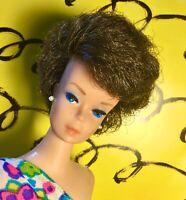 Vintage Barbie Bubble Cut Brunette CRISP, LIGHT AND DELICIOUS!