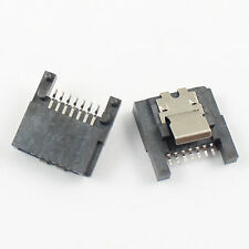 2Pcs New Sata 7 Pin SMT Straight Female Connector For Hard Drive HDD