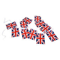 Union Jack Flag Bunting 12 ft with 11Flags C1U4) TP