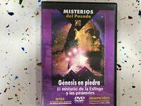 EL MISTERIO DE LA ESFINGE Y LAS PIRAMIDES DVD GENESIS EN PIEDRA DOCUMENTAL