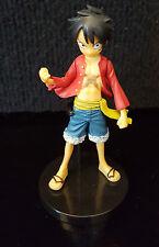2011 Bandai One Piece Luffy Figure 3.5inch Figurine Figure With Base