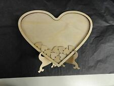 Baby Shower, Engagement or Wedding. Personalise Ply Wood Guest Book Drop Box 70
