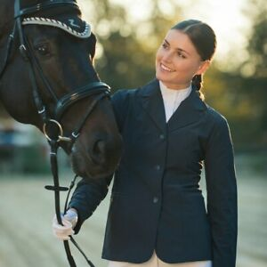 Horze Wiona Competition Jacket Black rrp$139