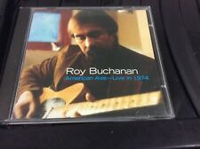 ROY BUCHANAN AMERICAN AXE LIVE IN 1974 CD ALBUM. F1