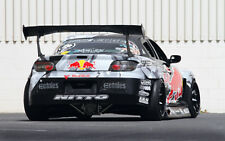 """RED BULL MAZDA RX8 A3 CANVAS PRINT POSTER FRAMED 16.5""""x11.1"""""""