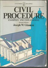 Civil Procedure Examples and Explanations Second Edition PB 1992