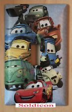 Cars characters McQueen Light Switch Power Outlet wall Cover Plate Home Decor