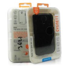 High Gloss Slim Back Case Cover Black For Samsung Galaxy S4 By Cygnett