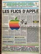MAGAZINE HEBDOGICIEL N°90 ... 5 Juillet 1985 ... Amstrad, Apple ...