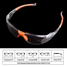 Eye Protection Outdoor Work Lab Anti Fog Clear Protective Safety Goggles Glasses