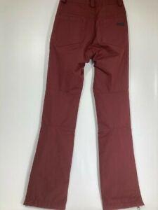 NWT WOMENS VOLCOM COAST STRETCH PANT XS Black Red snowboard pants
