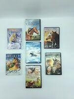 Lot of Horses Pony Stallion Movies on DVD SPIRIT Black Stallion Barbie Sylvester
