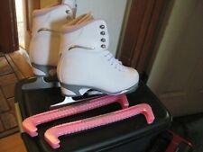 Jackson Ultima Figure Ice Skates Size 7 Women,Youth Mark1 white/purple