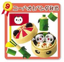 Re-Ment Bento Contest #9 - Panda Rice ,Water Flask Bottle, Chopstick Holder