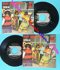 LP 45 7'' EMANUELE LAUTER Blues senza parole Cecilia italy BENTLER no *cd mc dvd
