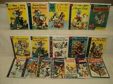 Tom and Jerry Giant MEGA SET/LOT Solid! Dell Giants 17 Comics (s 8046)